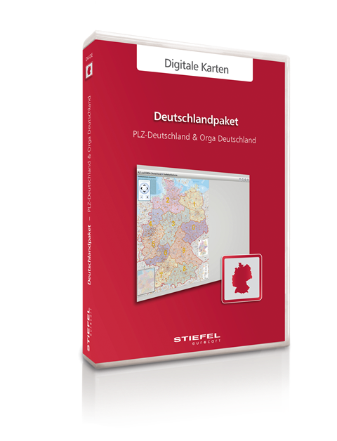 Admisitrative Maps Germany from STIEFEL